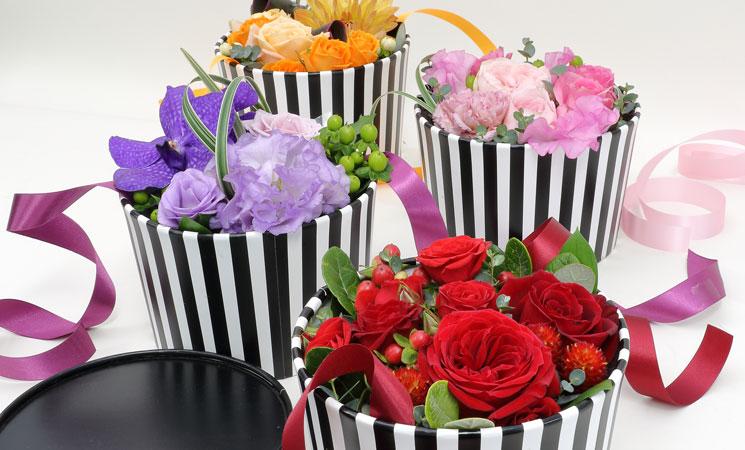 バレンタインデーのお花イメージ